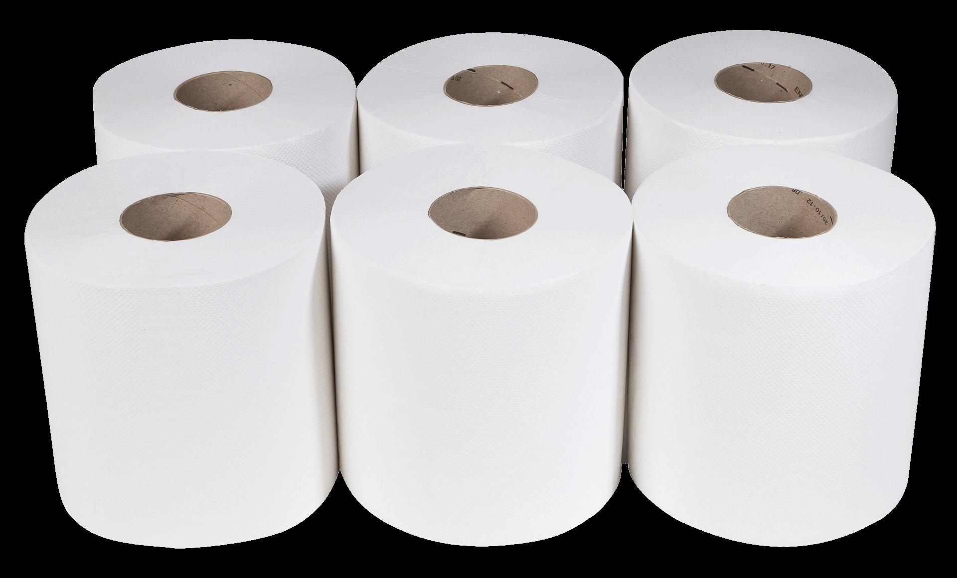 Handtuchrolle weiß